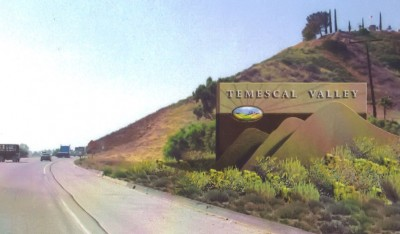 This is a digital rendering of the Temescal Valley monument.